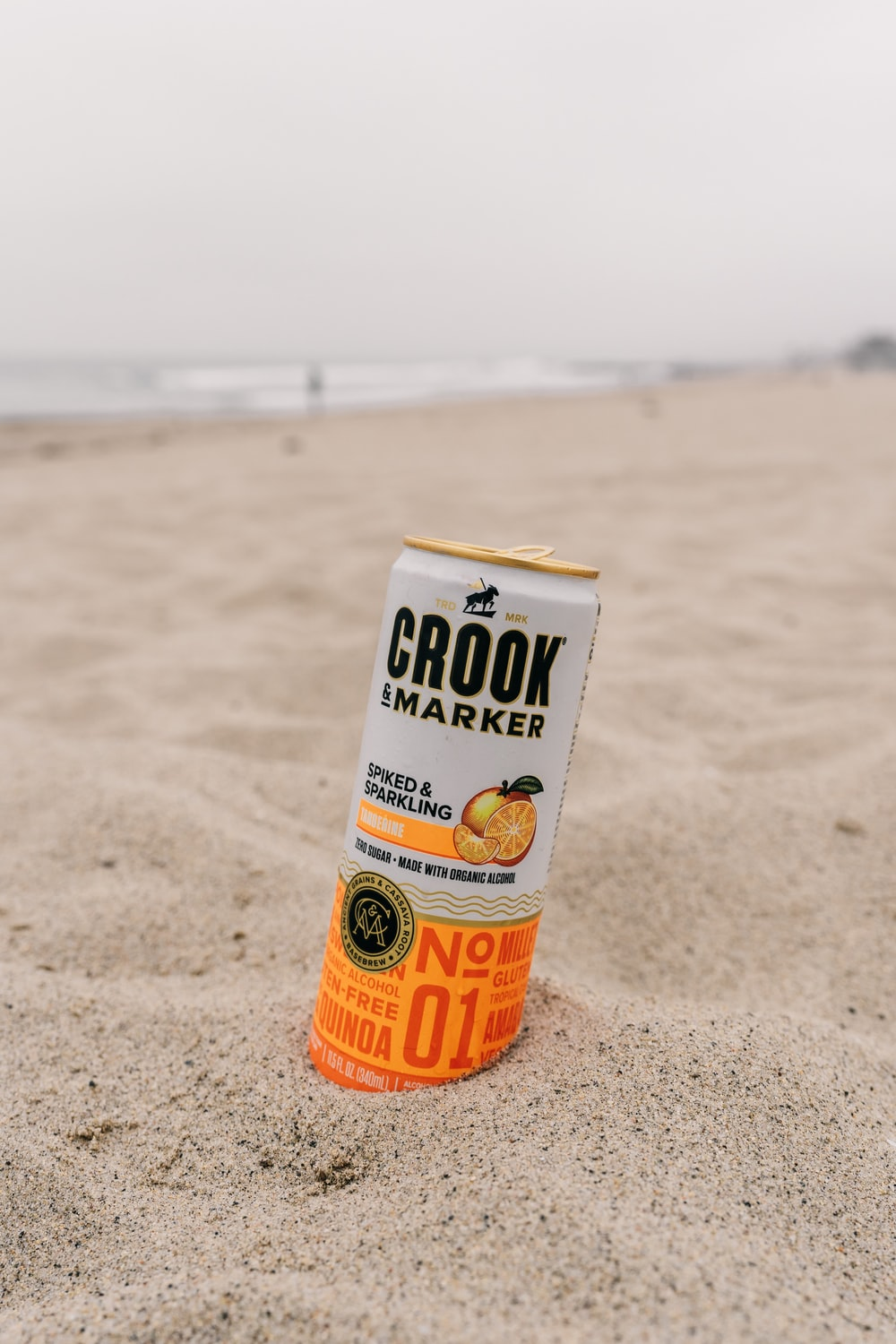 Crook marker can