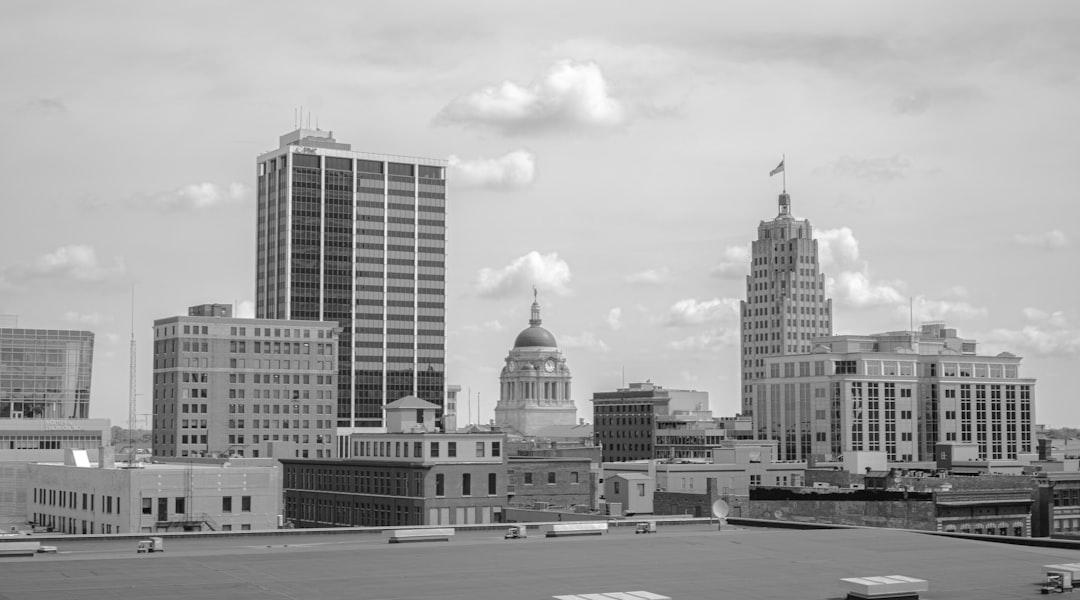 Fort Wayne skyline.   Follow me on Insta @zvessels55