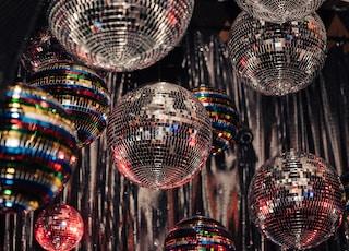 assorted mirror balls lot