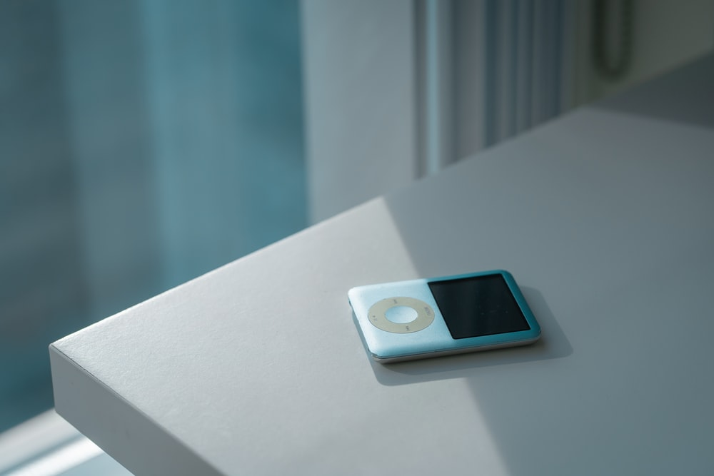 teal iPod Classic