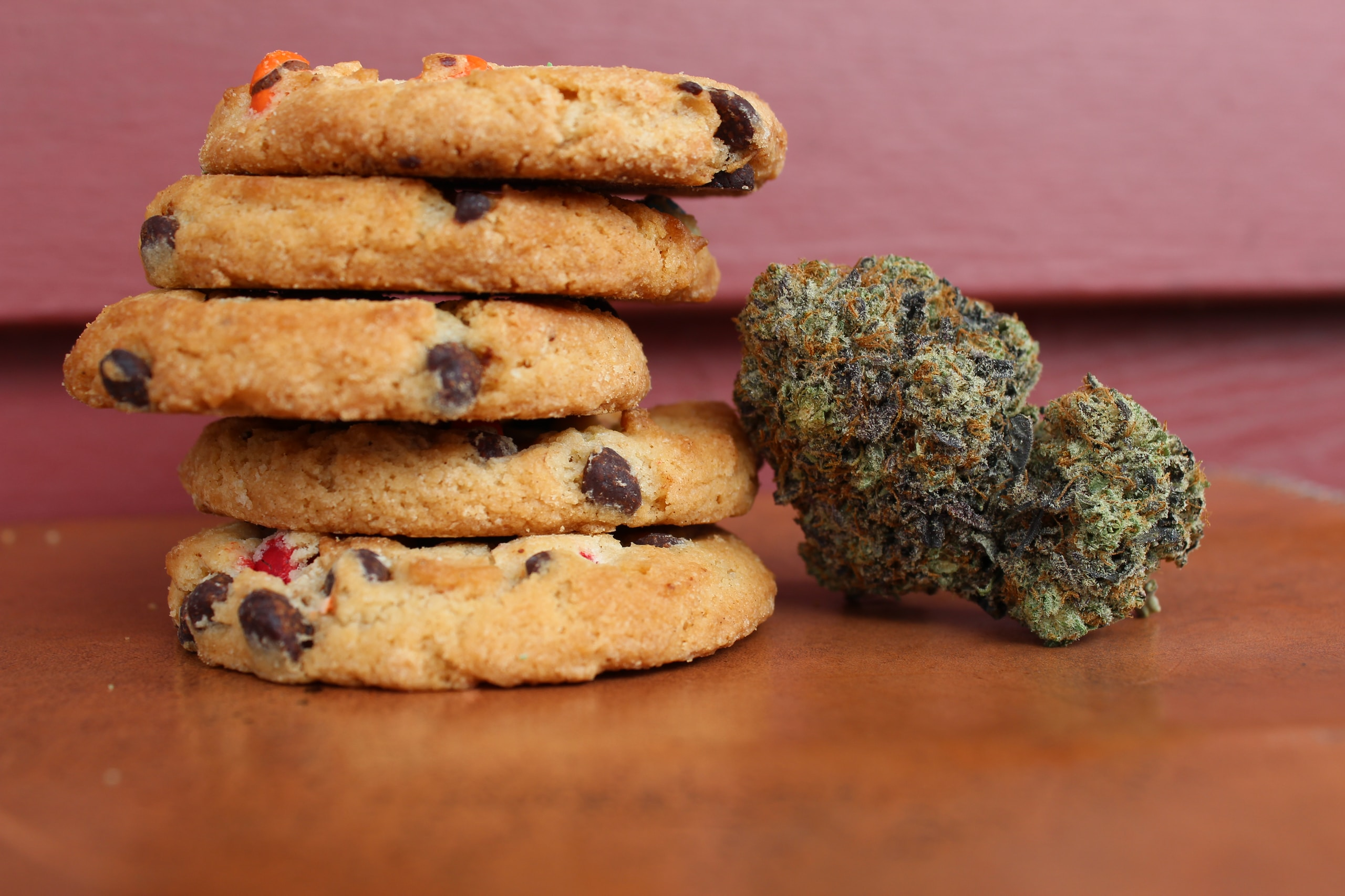 cannabis, baked cookies