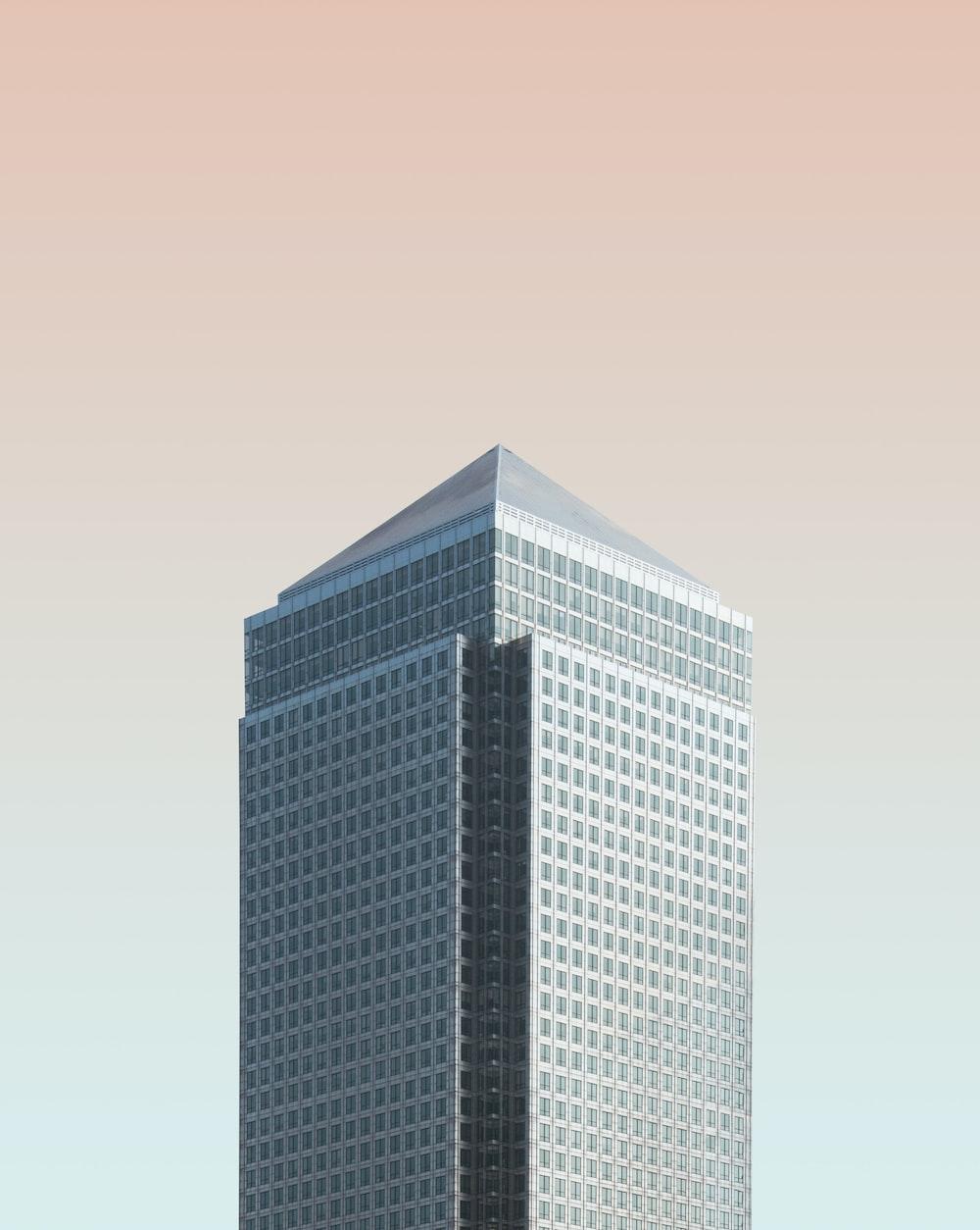 grey high-rise building