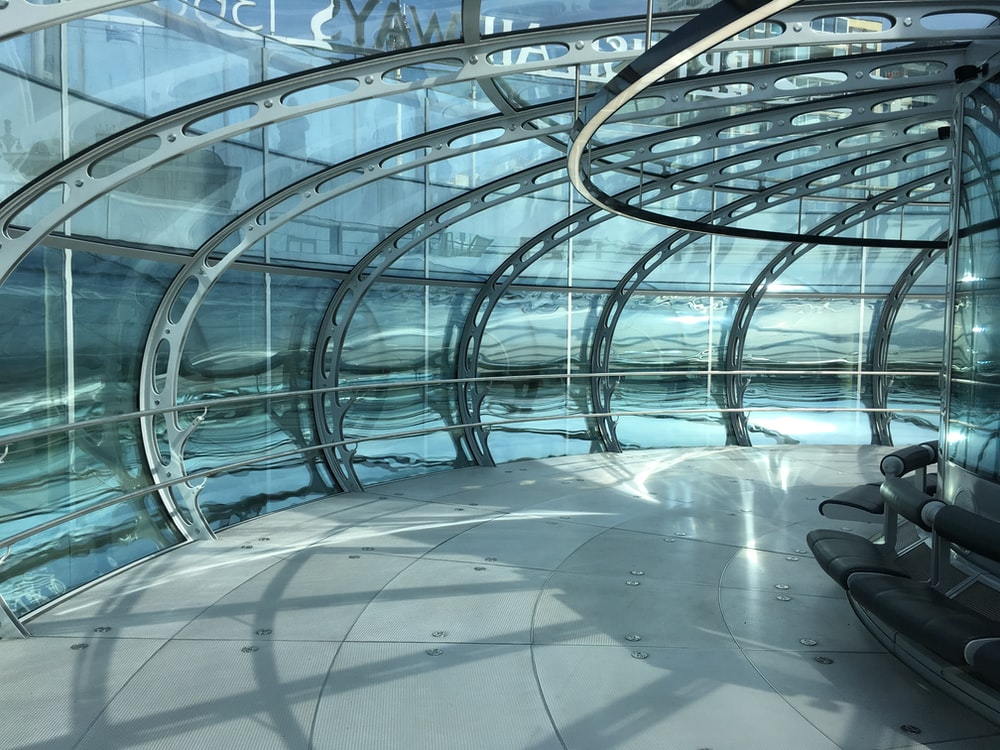 indoor photography of structure
