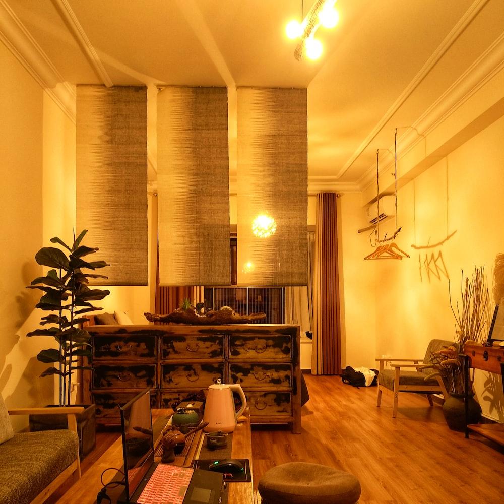lighted room