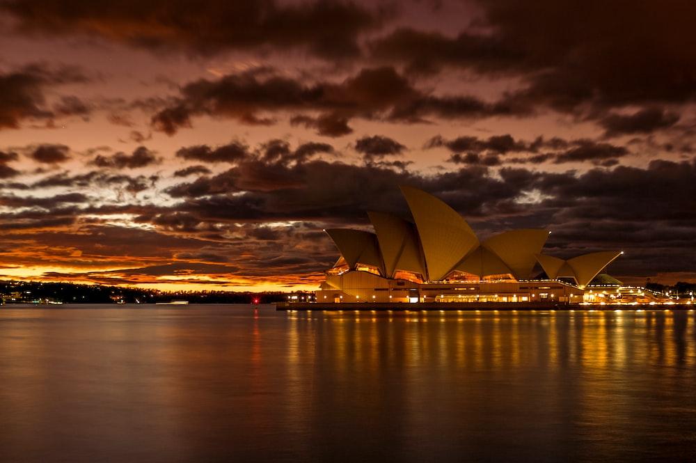 Opera House, Sydney Australia during golden hour