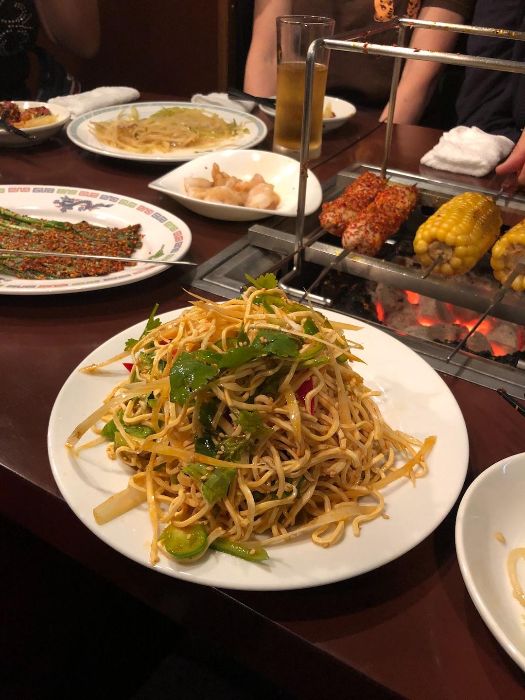 Mongolian BBQ in Koreatown, Shin-Okubo