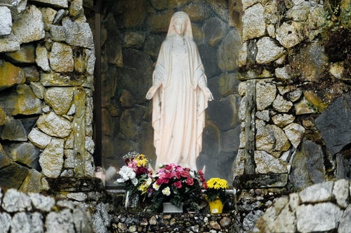 Mother Mary Clearing and Blessing
