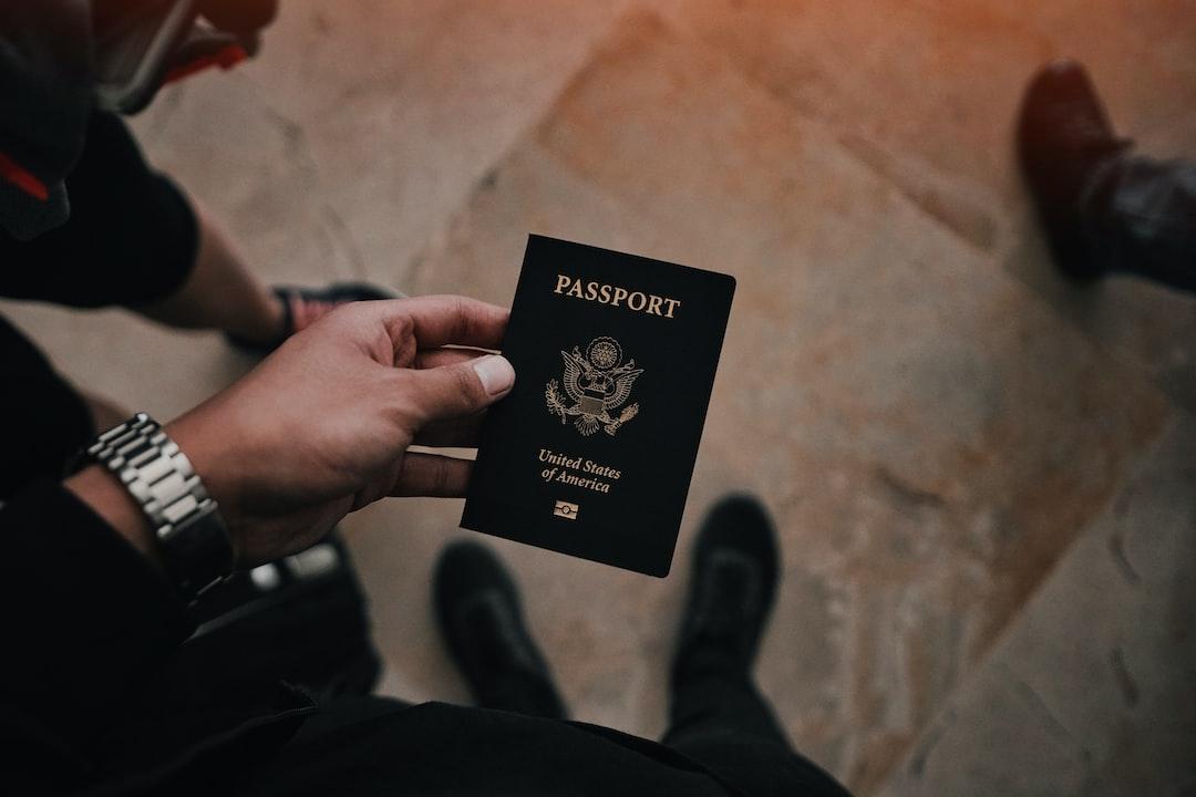 checklist for international trip