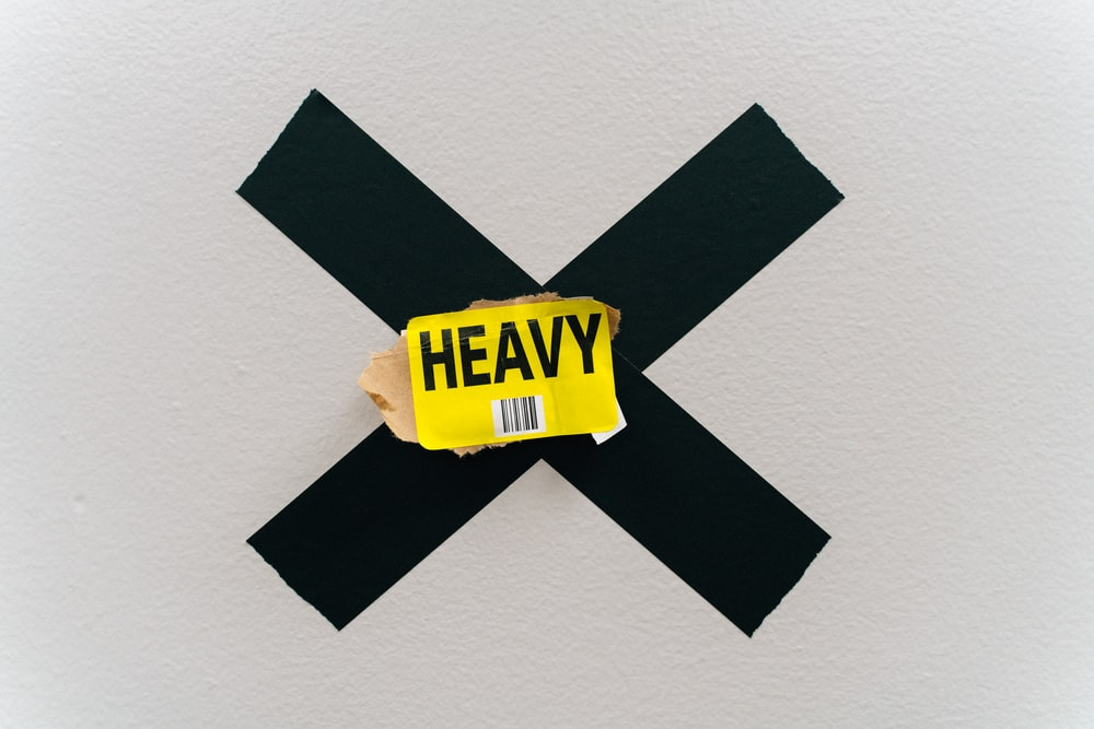 yellow Heavy card