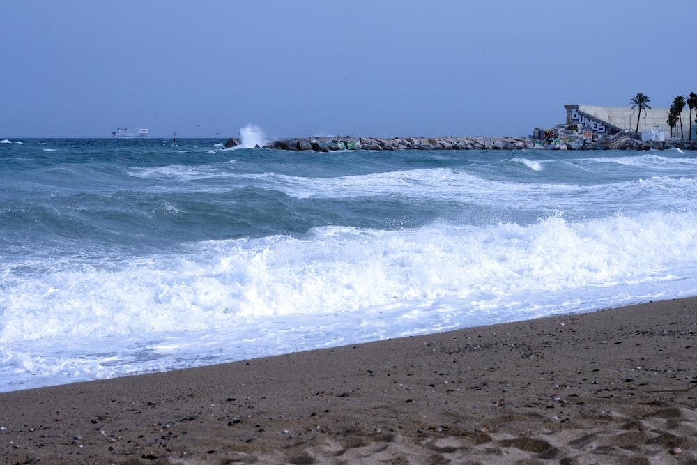 body of water near shore