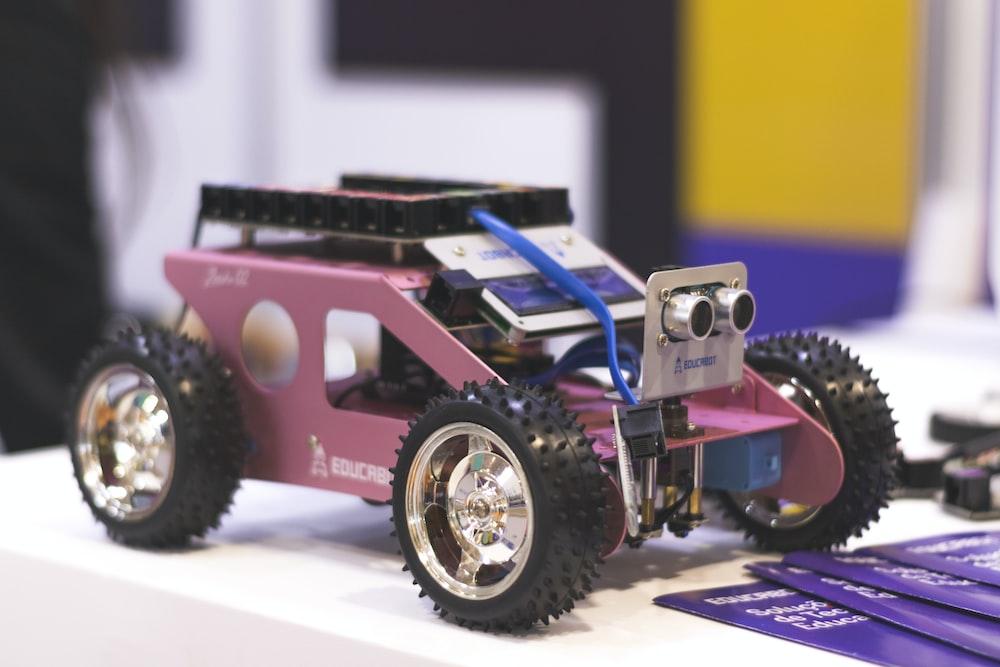 pink car toy