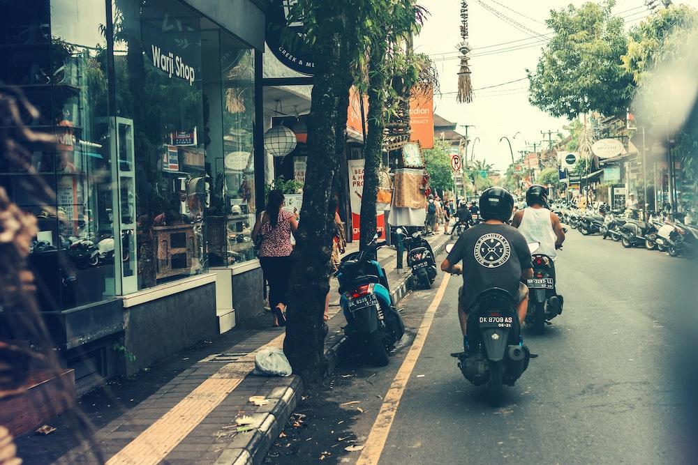 people on motorcycle