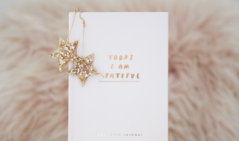 today I am grateful greeting card