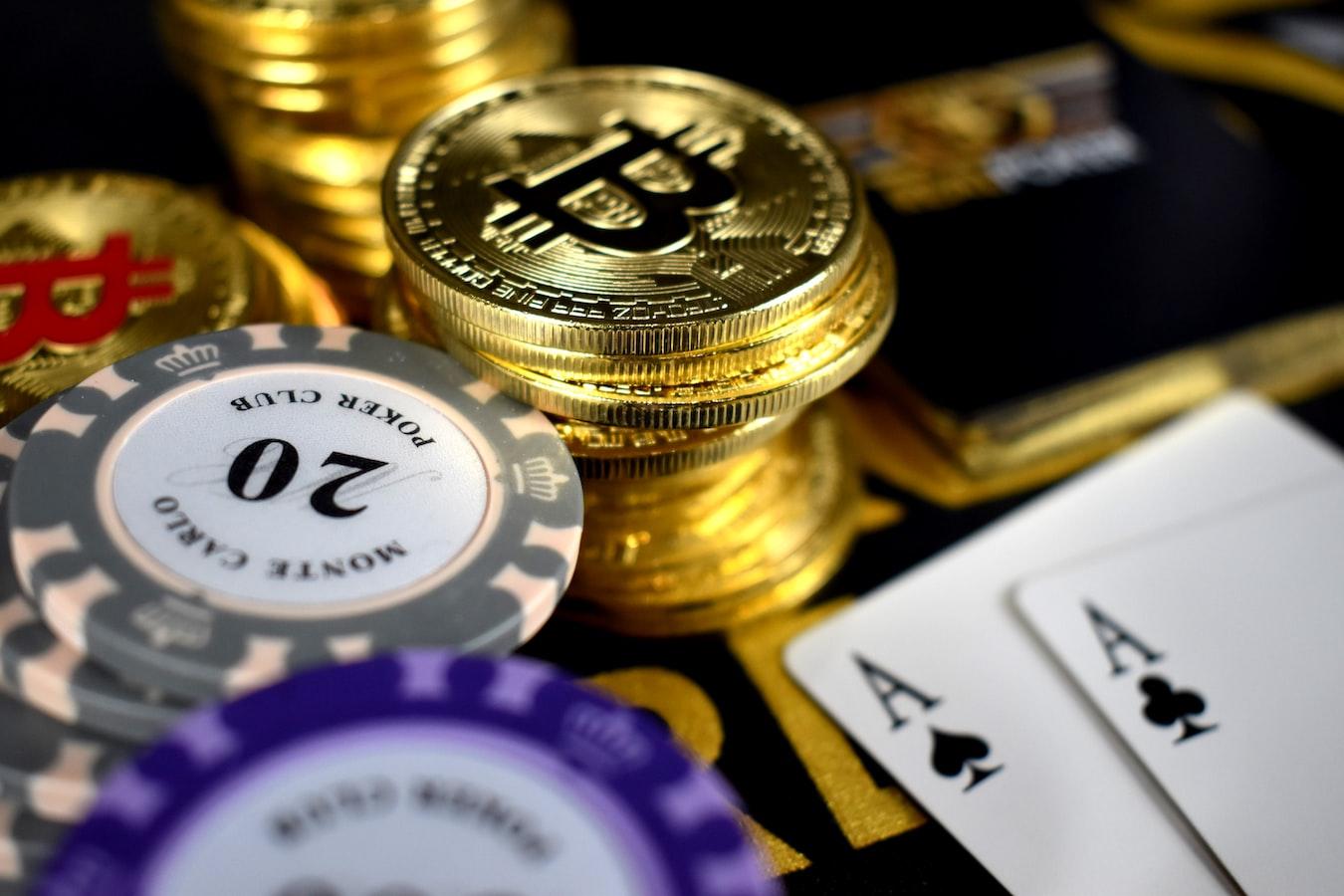 биткоины в казино