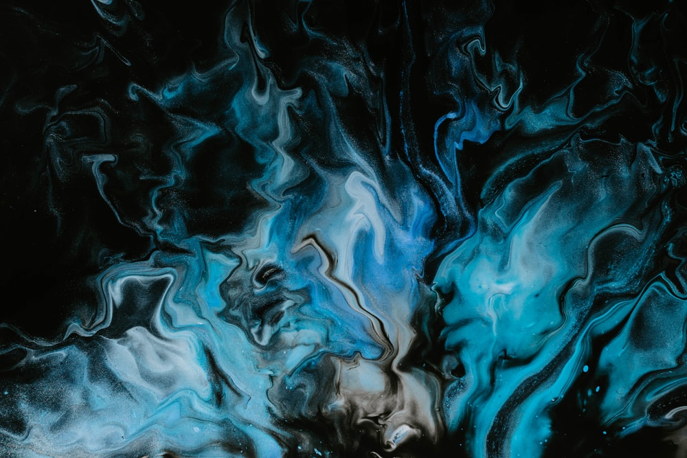abstract painting close-up photography