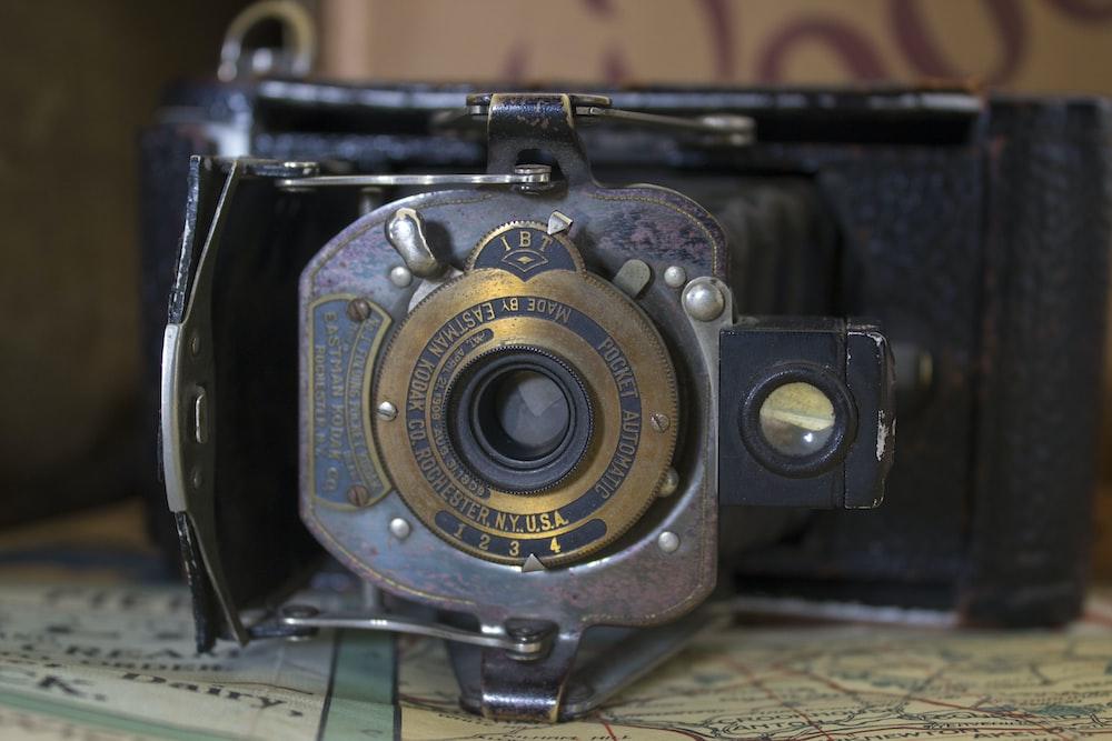gray and black land camera