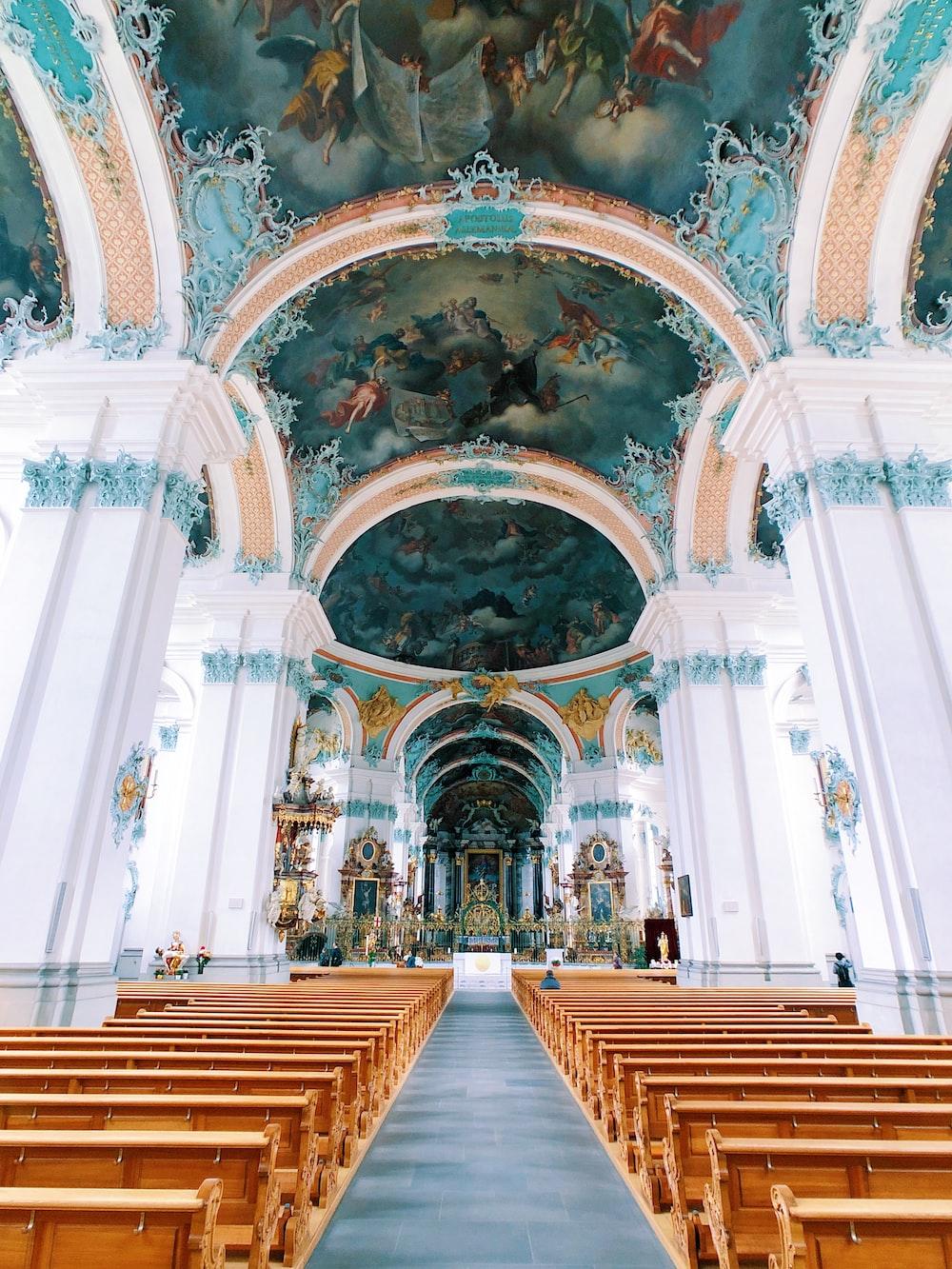 pews inside church