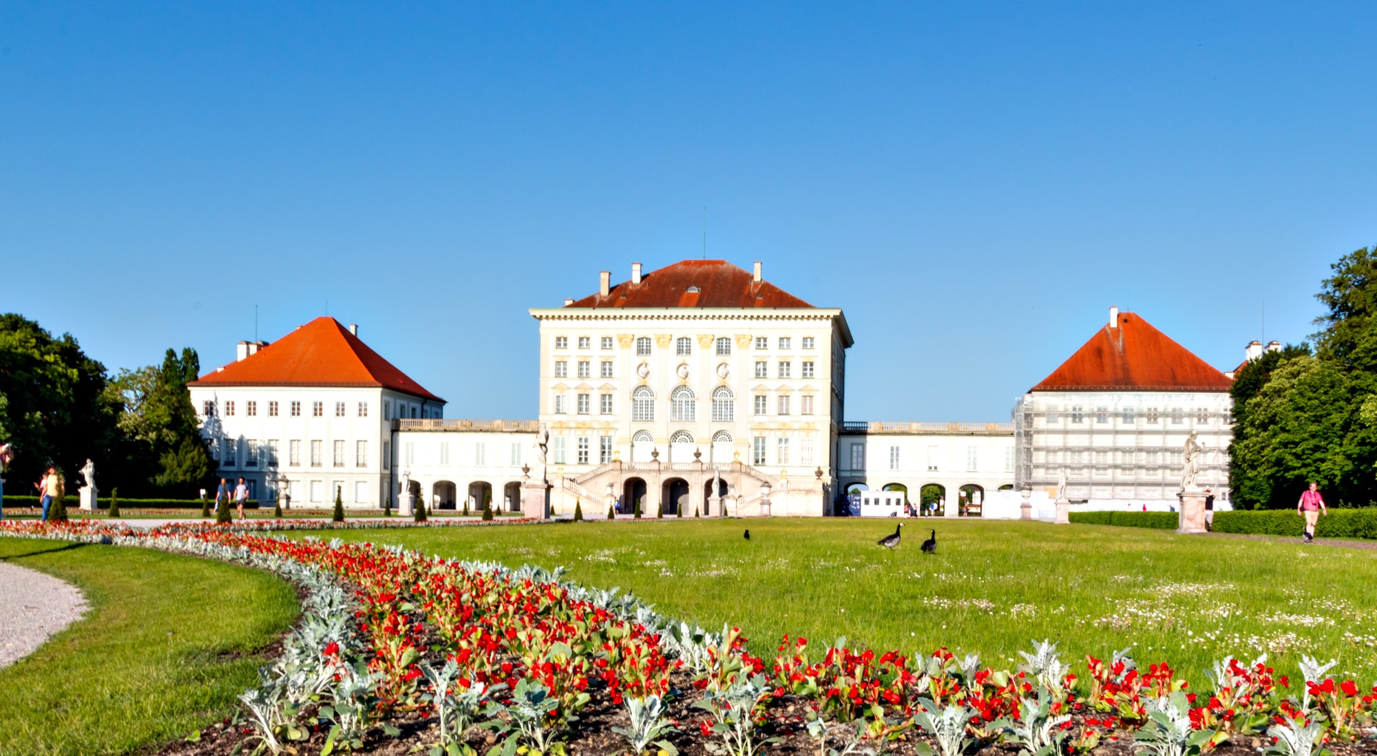 Nymphenburg Palace in Munich - Germany