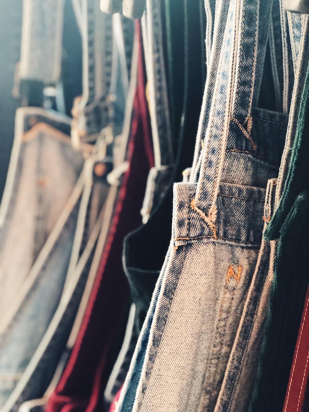 assorted-color garment lot