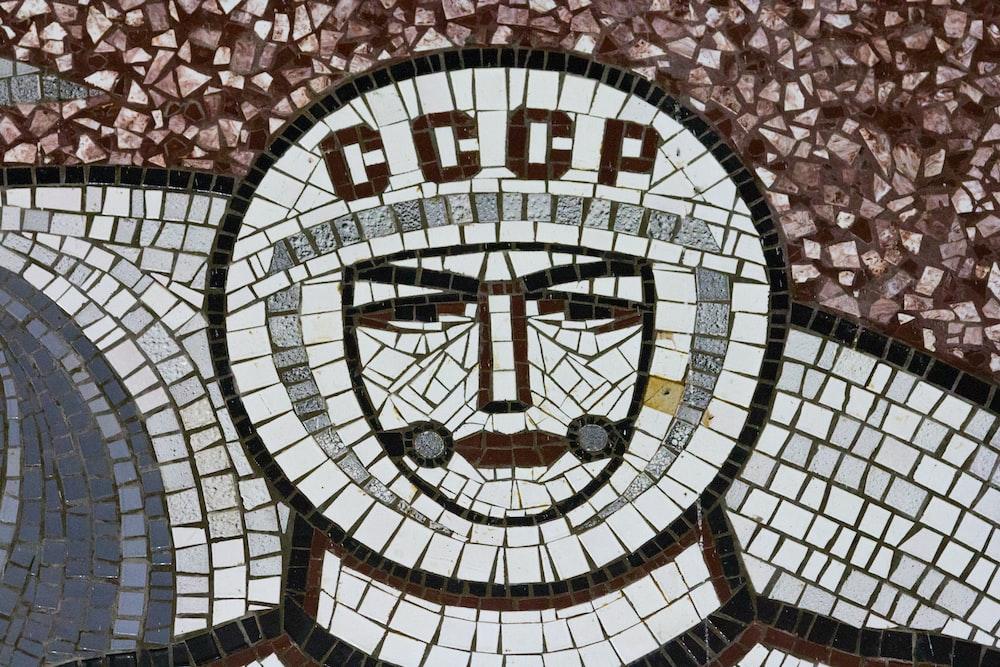 multicolored decorative tiles