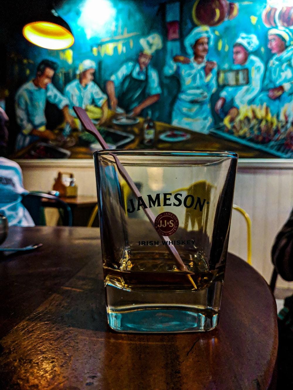 Jameson shot glass