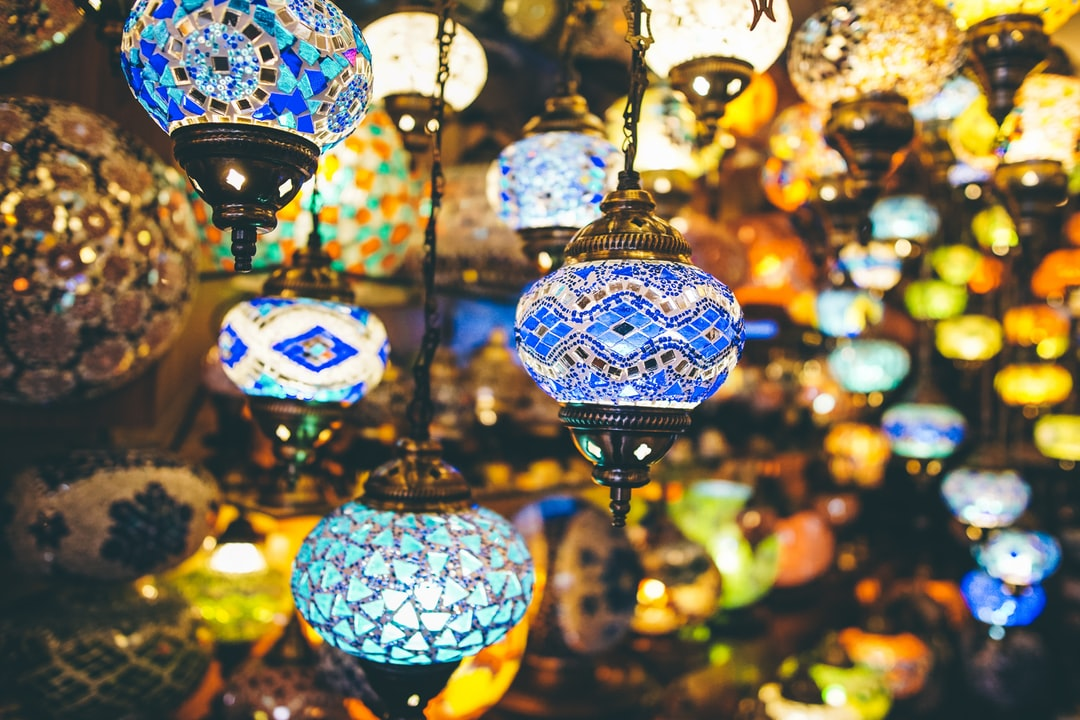 Turkish lamps.