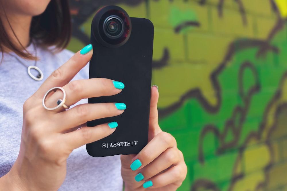 black Assets smartphone case