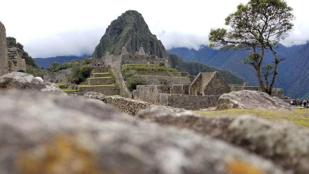Huayna Picchu at Peru