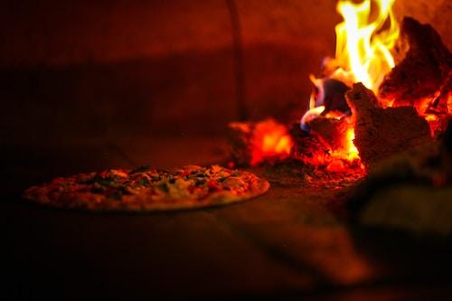 "Pizza ""Bresaola"""
