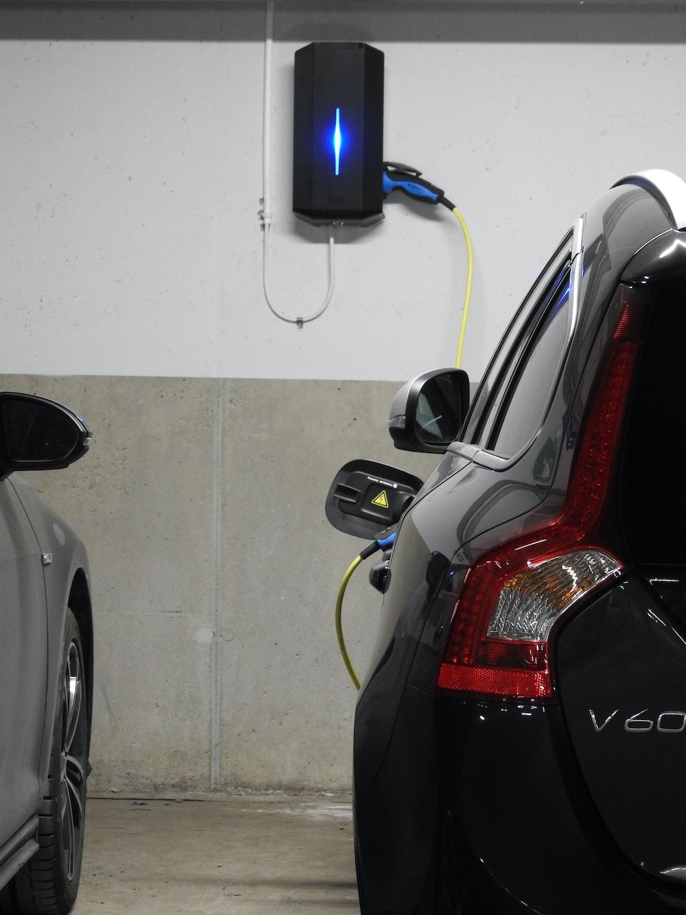 black V60 hatchback