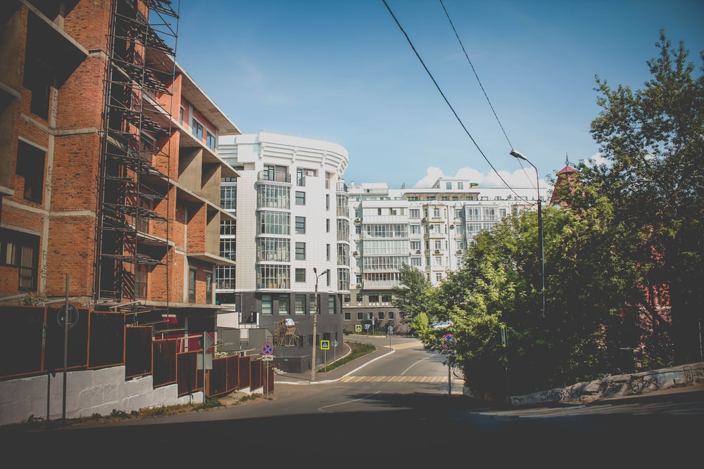 white and brown concrete buildings during daytime