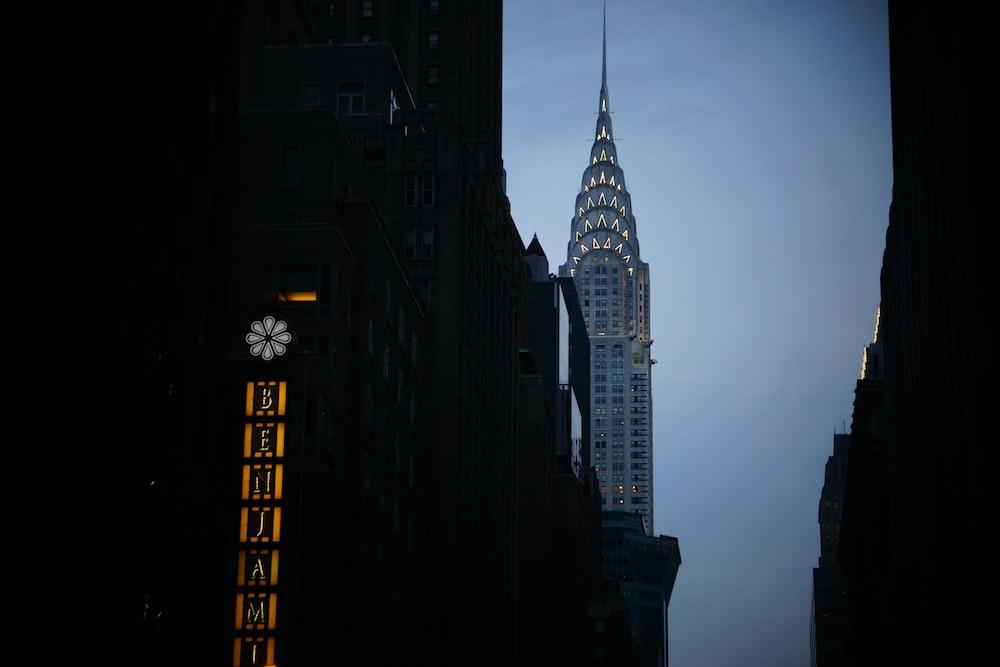 Chrysler tower photo