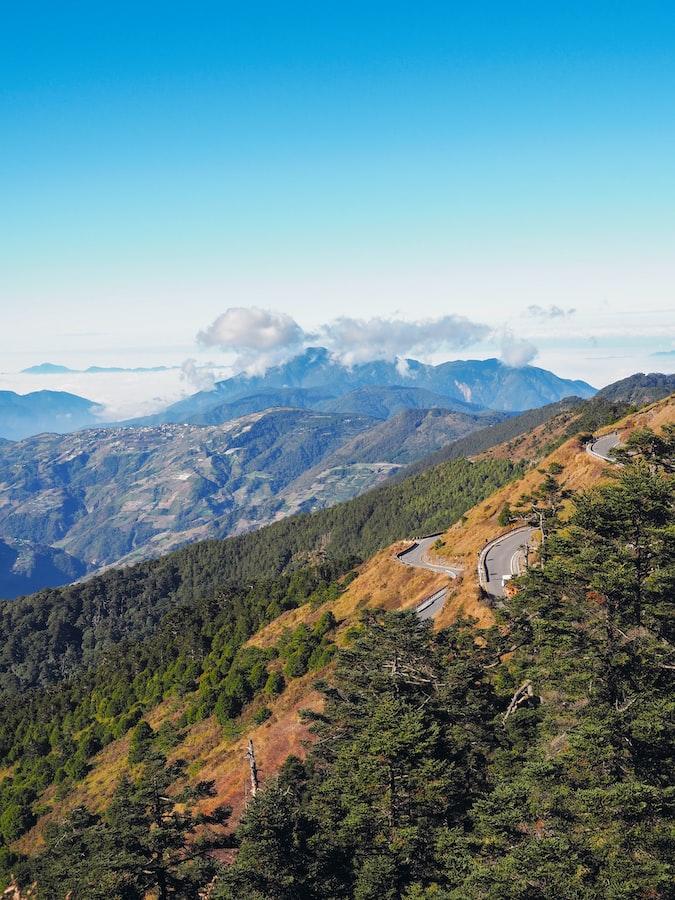 草坡被染上整片金黃!攻頂「武陵四秀」 4座不同風格的百岳