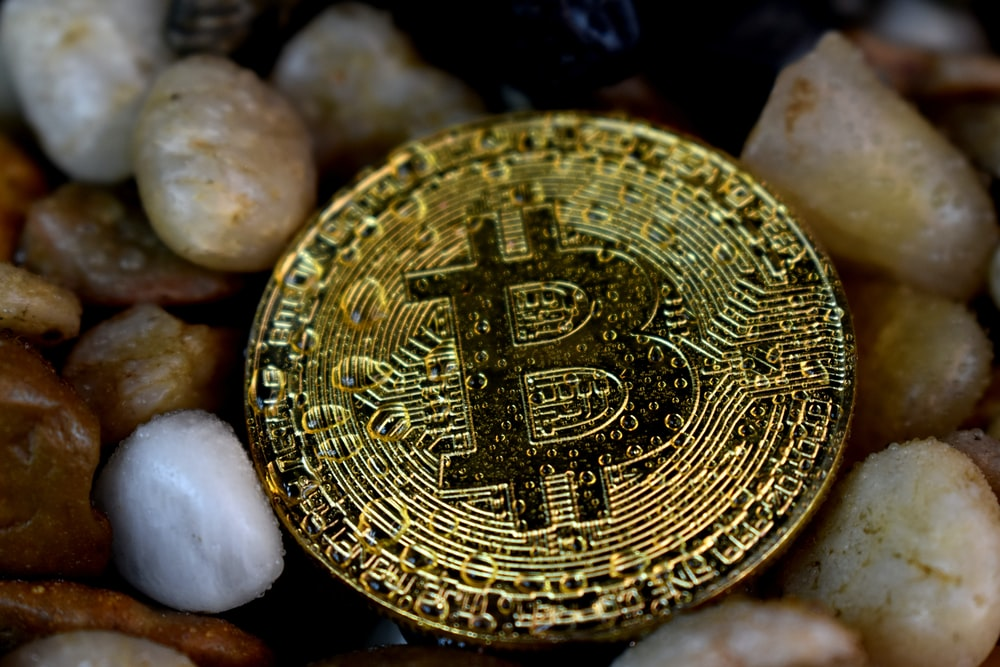 Bitcoin on pebbles