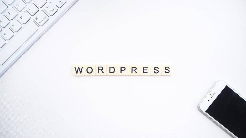 Wordpress text