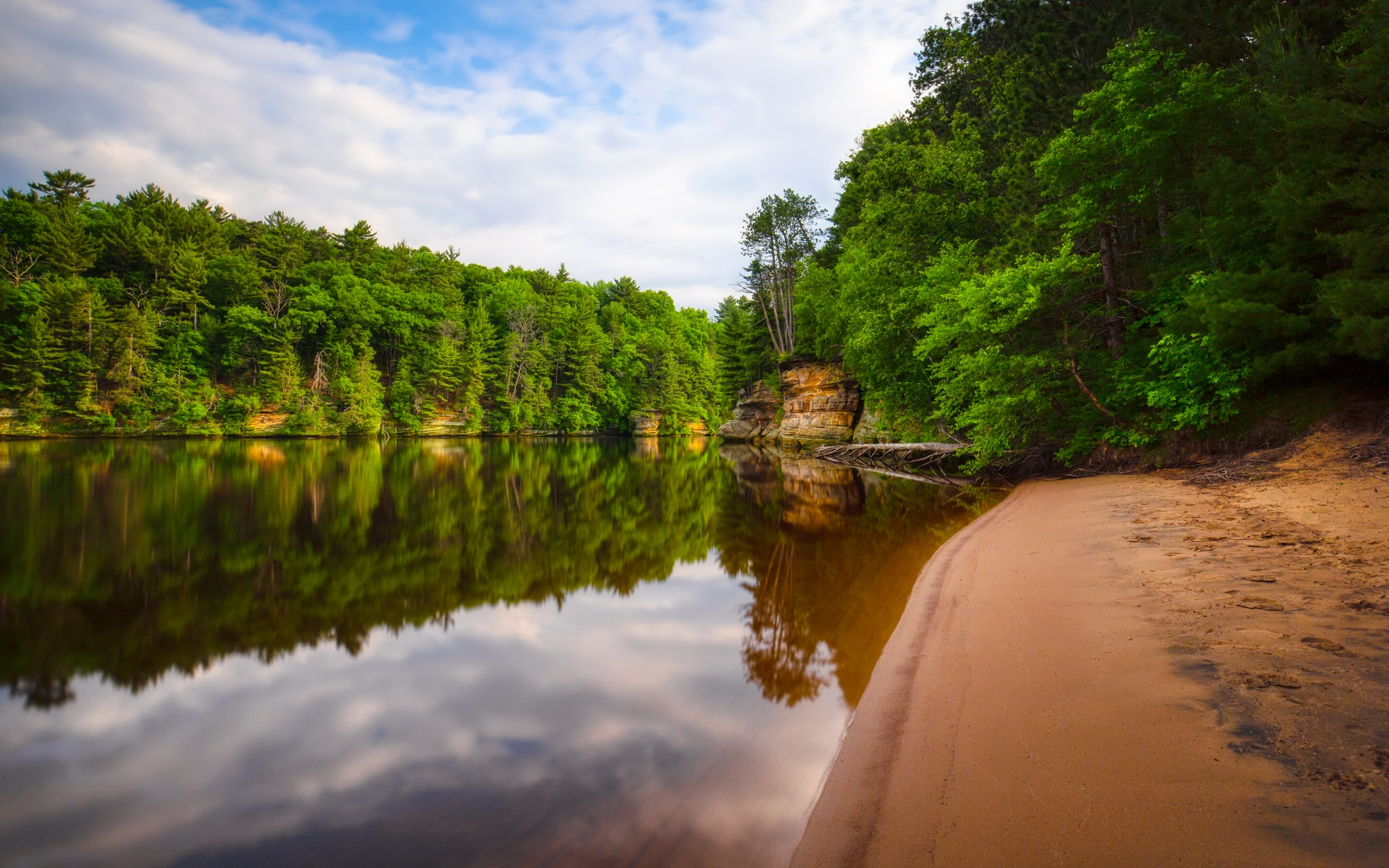River in the Wisconsin Dells