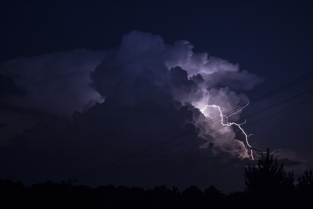 single cell thunderstorm
