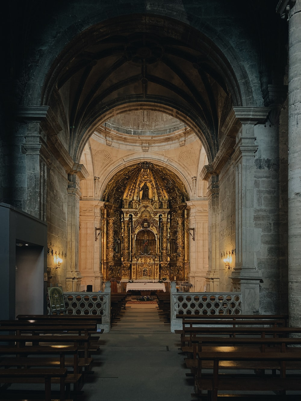 inside photo of church