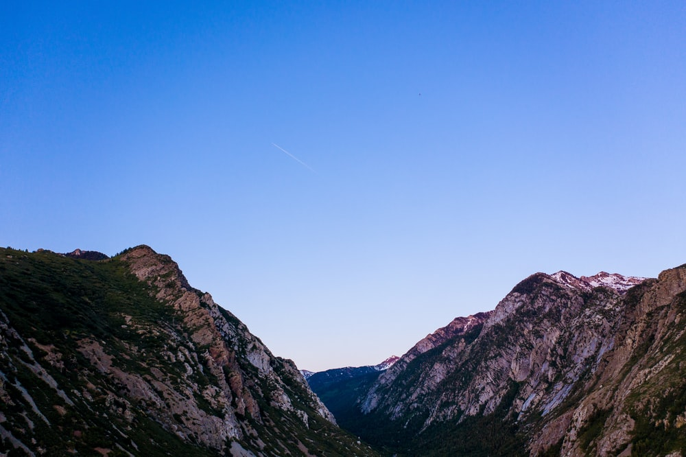 panoramic photography of mountains during daytime