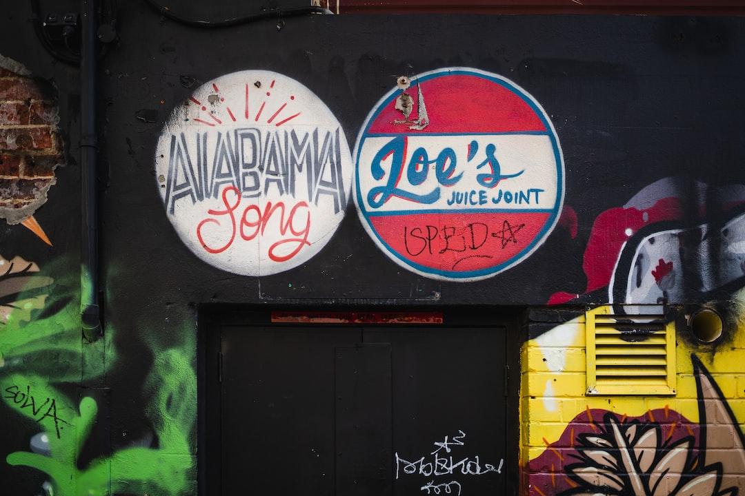 Creative graffiti street art murals line the streets and back alleys of Perth, Australia.