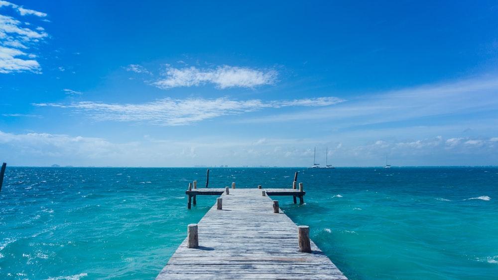 dock in ocean