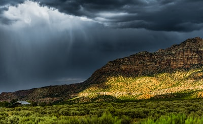 Summer thunderstorm somewhere in Arizona.
