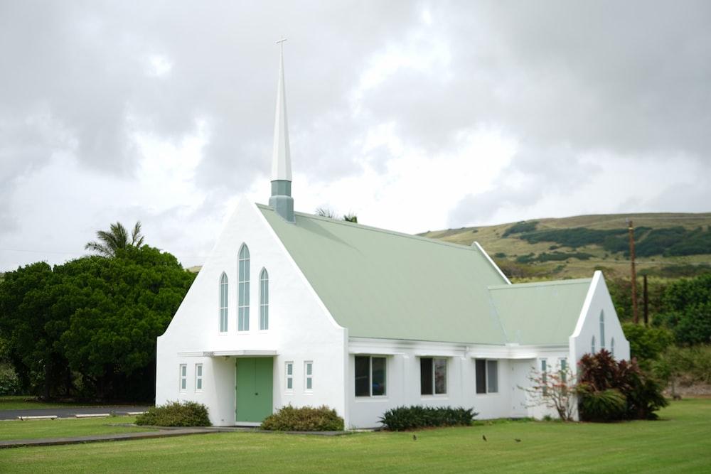 white concrete church during daytime