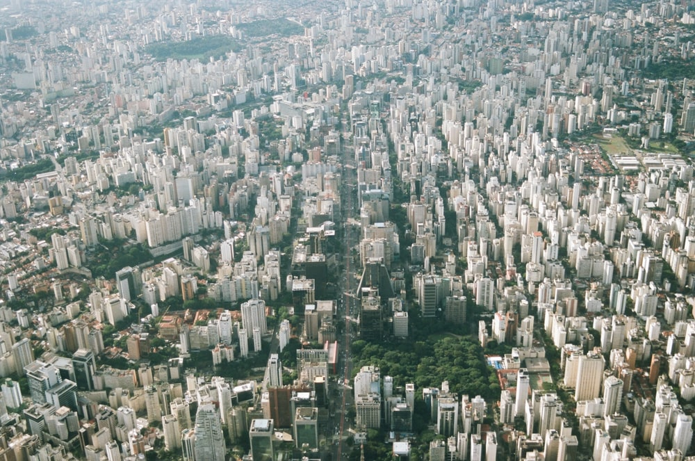 aerial view of buildings during daytime