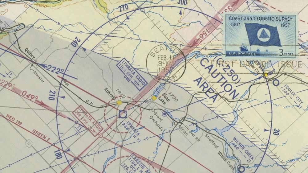 caution area map