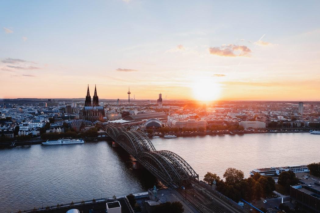 Cologne panoramic shot