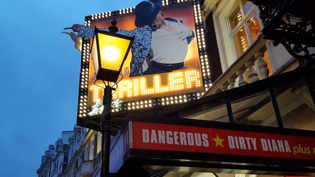 Lyric Theatre, London, Thriller.