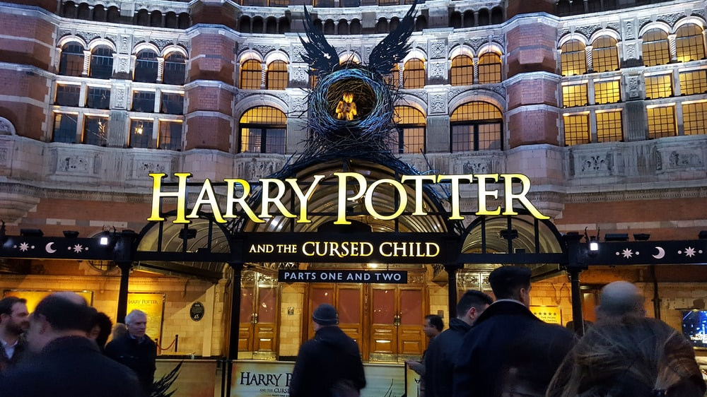 Harry Potter and the Cursed Child booth