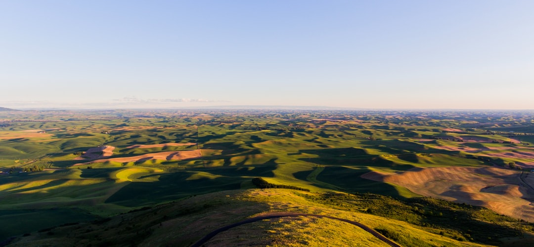 A gorgeous evening in Idaho at the steptoe butte.
