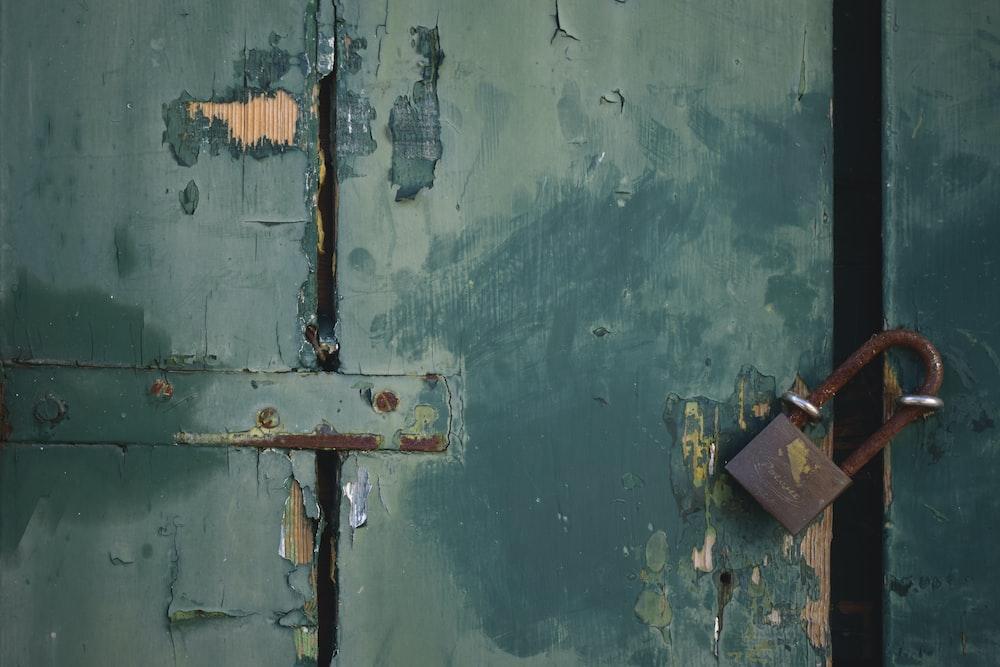 gray padlock